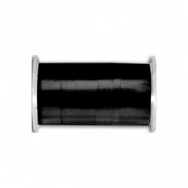 Bobine de fil laiton 10m 100% cuivre Noir C014