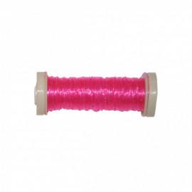 Bobine Fil élastique 15m en nylon - Fuschia C074