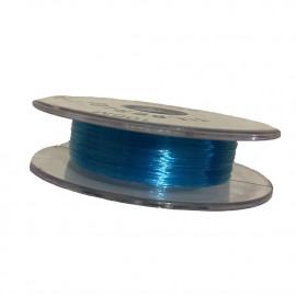 Bobine fil nylon coloré pour perles 100m - Turquoise C017