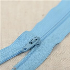 Fermeture fine Polyester N°2 couleur turquoise