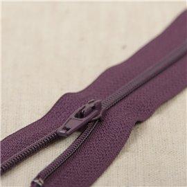 Fermeture fine Polyester N°2 couleur Violet volubili