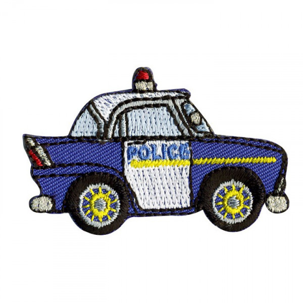 ecusson voiture police thermocollant vente en ligne d 39 articles de mercerie. Black Bedroom Furniture Sets. Home Design Ideas