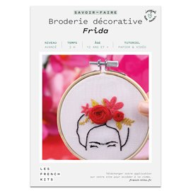 French Kits Broderie décorative Frida