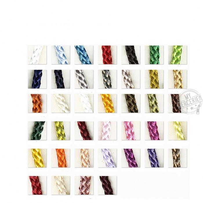 Cordelière en polyester vendu au mètre