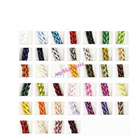 Cordelière en polyester vendu au mètre 4mm