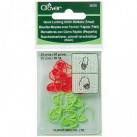 Anneaux marqueurs - marqueurs de maille pour le tricot - petit modèle
