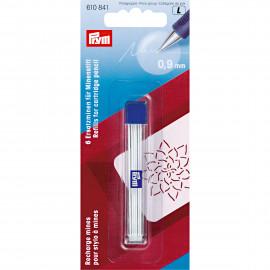 Recharge mines pour stylo a mines blanc Prym