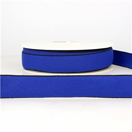 Bobine 22m Elastique multicolore 40 mm Bleu marine