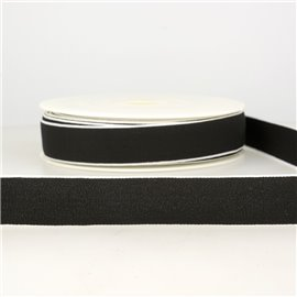 Bobine 22m Elastique multicolore 40 mm Noir
