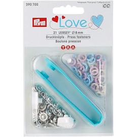 Prym Love Boutons pression JerseyColor 8mm laiton