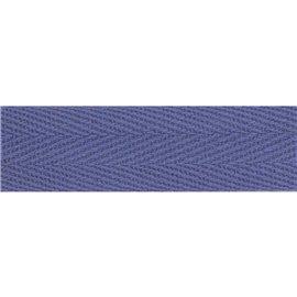 Bobine 50m Serge coton Bleu lavande