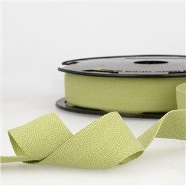 Disquette 25m Serge coton Vert nil