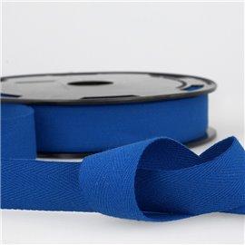 Disquette 25m Serge coton Bleu roy