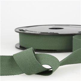 Disquette 25m Serge coton Vert bouteille