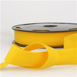 Disquette 25m Serge coton Jaune citron