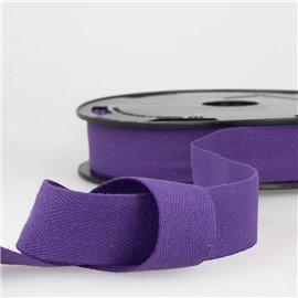 Disquette 25m Serge coton Violet