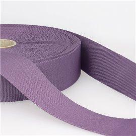 Bobine 25m sangle bandoulière polyester Violet