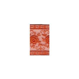 Bobine 14m entre-deux polyester 50mm Orange