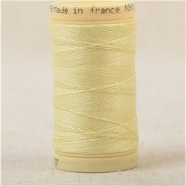 Bobine fil 100% coton made in France 445m - Or C137