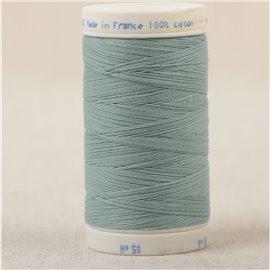 Bobine fil 100% coton made in France 445m - Vert amande C54