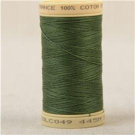 Bobine fil 100% coton made in France 445m - Vert empire C49