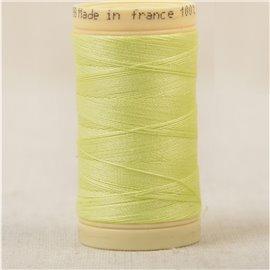 Bobine fil 100% coton made in France 445m - Vert chartreuse C42