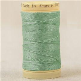 Bobine fil 100% coton made in France 445m - Vert nil C45