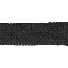 Bobine 20m Tresse tubulaire spéciale sportswear noir