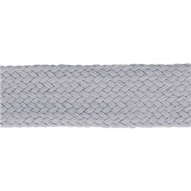 Bobine 20m Tresse tubulaire spéciale sportswear gris clair