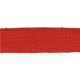 Bobine 20m Tresse tubulaire spéciale sportswear rouge
