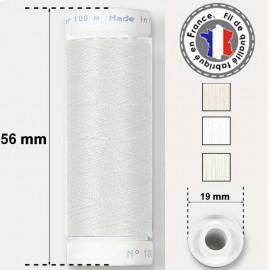 Les fils blancs super résistants en polyester - bobine 50m