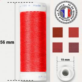Les fils rouges super résistants en polyester - bobine 50m