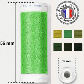 Les fils verts super résistants en polyester - bobine 50m