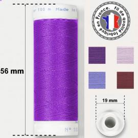 Les fils violets super résistants en polyester - bobine 50m