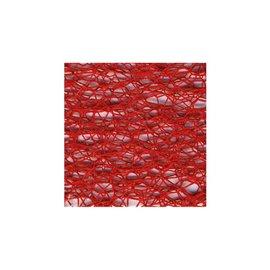 Bobine 20m ruban toile daraignée 38mm Rouge