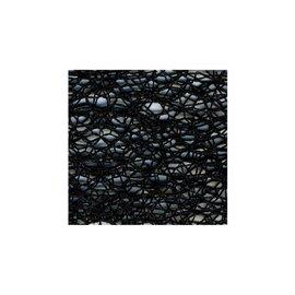 Bobine 20m ruban toile daraignée 38mm Noir