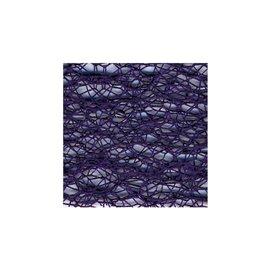 Toile daraignée 50cm x 5m Violet