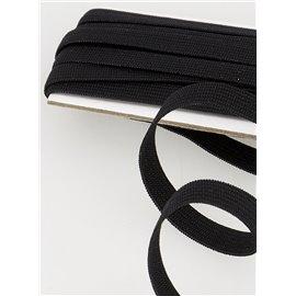 Elastique souple noir 5mx5mm Azo free