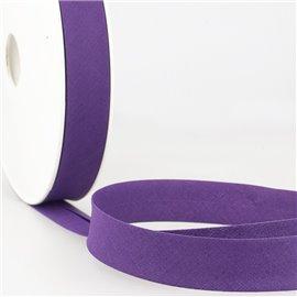 Disquette de 40m biais replié Indigo clair pour tout textile