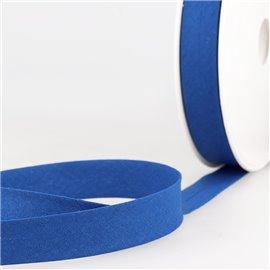 Disquette de 40m biais replié Bleu égyptien pour tout textile
