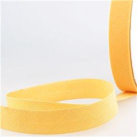 Disquette de 40m biais replié Bouton d'or pour tout textile
