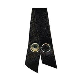 4 attache bretelles noir
