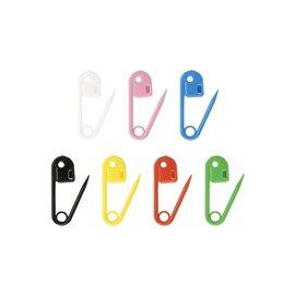 28 épingles de marquage plastique 24mm multicolore