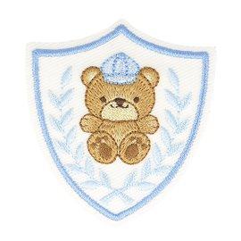 Lot de 3 écussons thermocollants badge ourson 5cm x 5cm