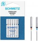 5 Aiguilles surjeteuse Schmetz Overlock ELx705 grosseur 80-90