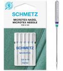 5 Aiguilles Microtex Schmetz 130/705 H-M grosseur 70