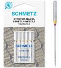 5 Aiguilles Schmetz Stretch 130/705 H-S grosseur 75