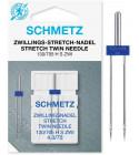Aiguille double Schmetz Stretch 130/705 H-S ZWI