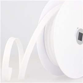 Passepoil mèche 2 mm blanc au mètre