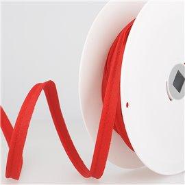 Passepoil mèche 2 mm rouge au mètre